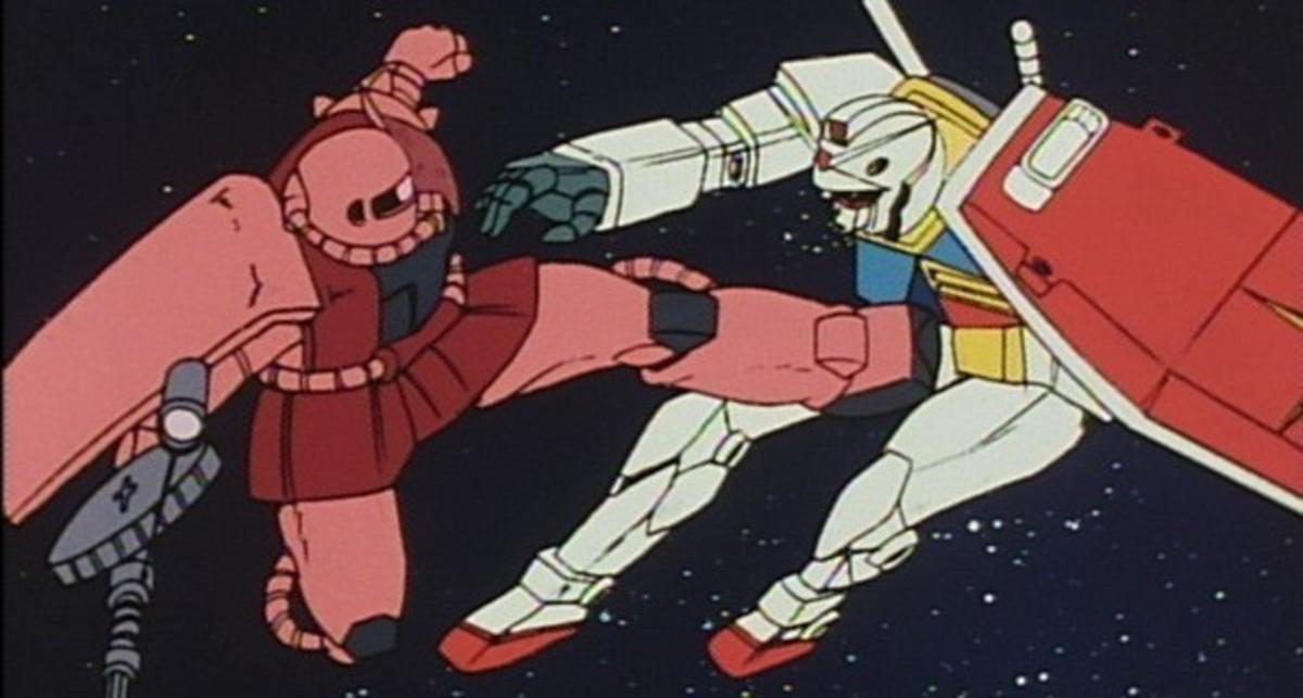 And so begins the downward spiral known as Izumak- er... Mecha anime.