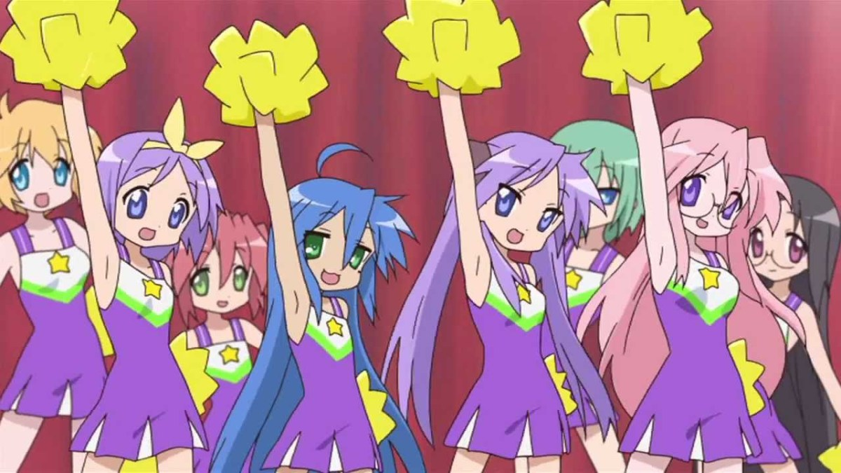 Not every anime ends it's run with a big dance sequence, but Lucky Star does
