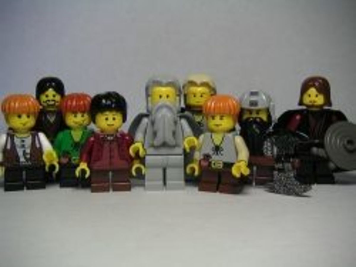 The Lord of the Rings Lego characters
