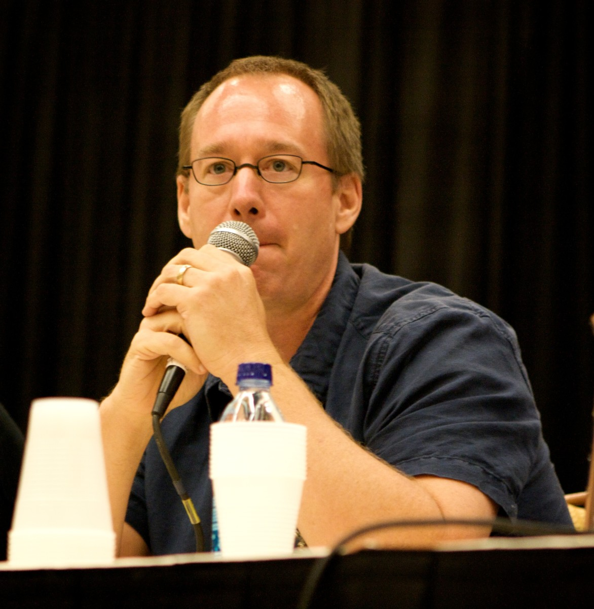 Joel Hodgson left MST3K mid-way through the fifth season.