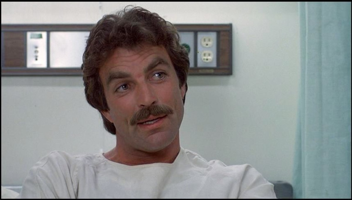 Victim No. 2 : Mr. Magnum P.I. himself, Tom Selleck
