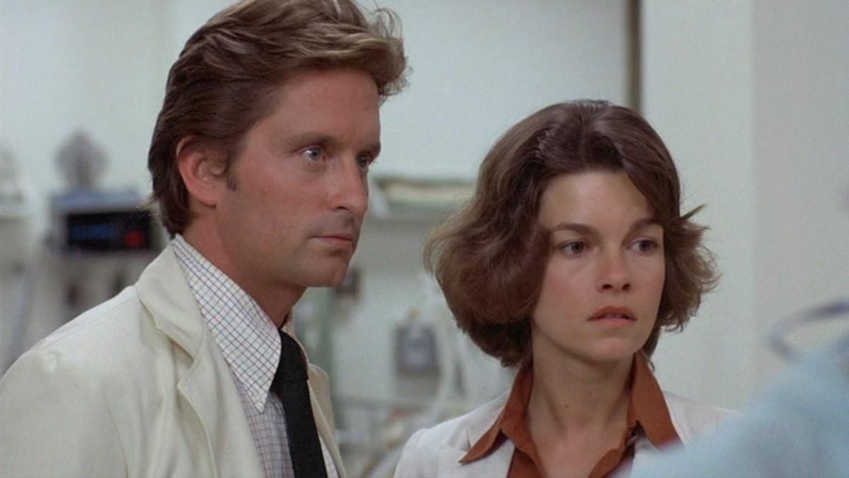 Michael Douglas & Genevieve Bujold