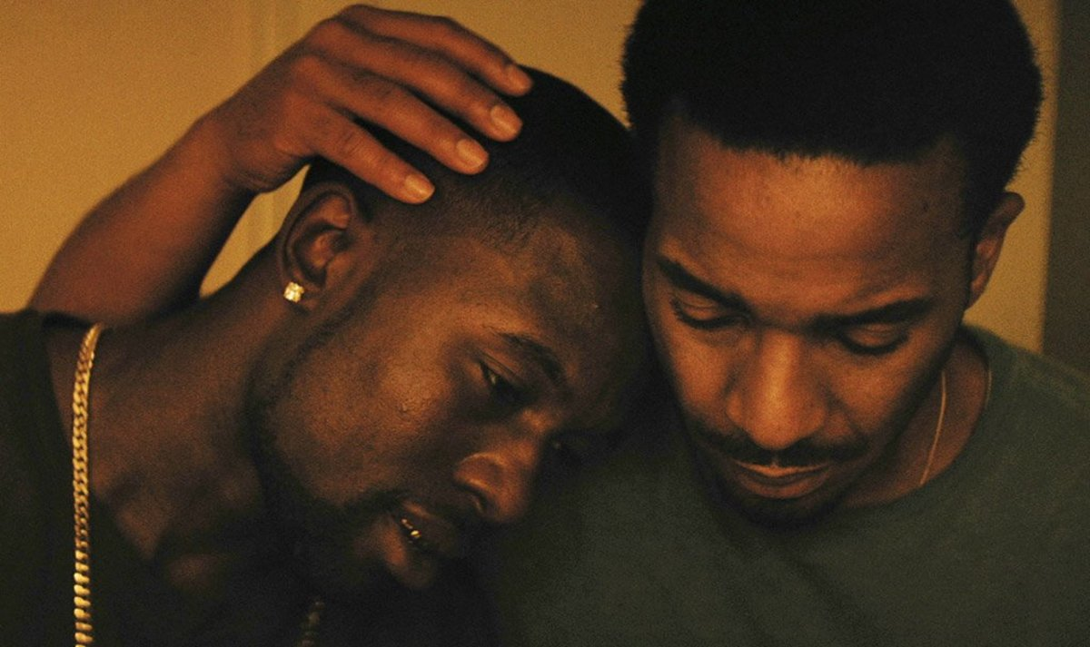 Trevante Rhodes & André Holland in 'Moonlight'