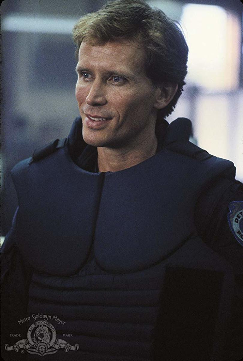 Peter Weller as Alex Murphy.