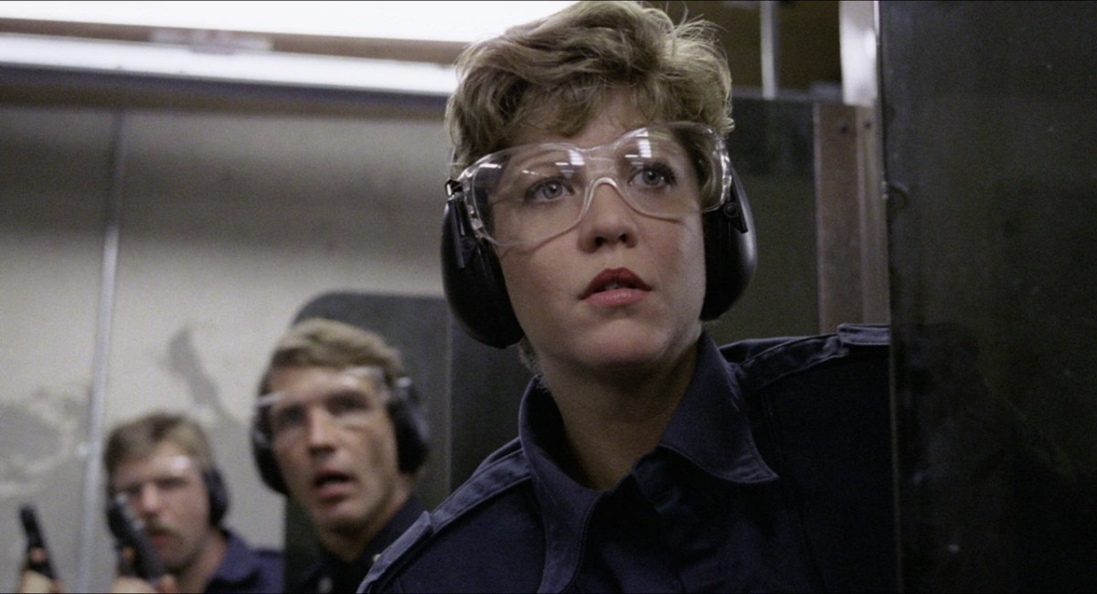 Nancy Allen as Officer Lewis.