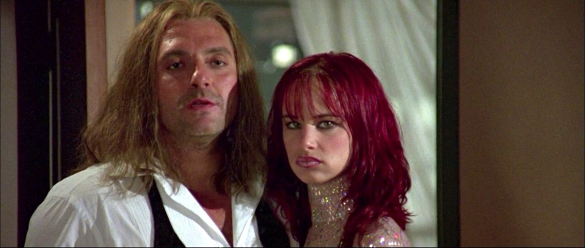 Tom Sizemore & Juliette Lewis as Max Peltier & Faith Justin