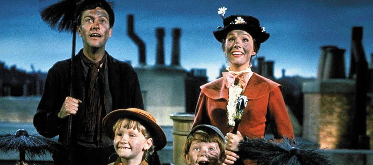 The original cast of Mary Poppins