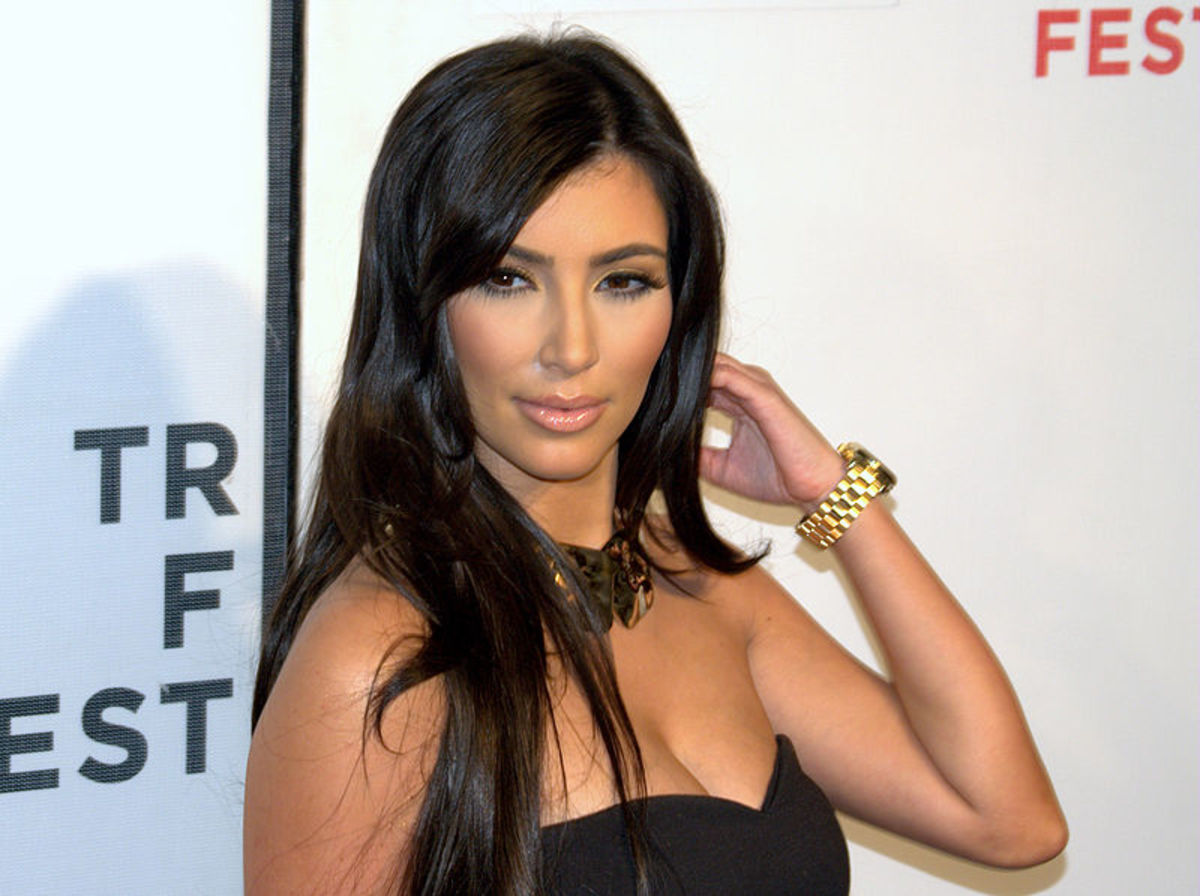 Kim Kardashion, who has reaped many and advantage and disadvantage from being famous.