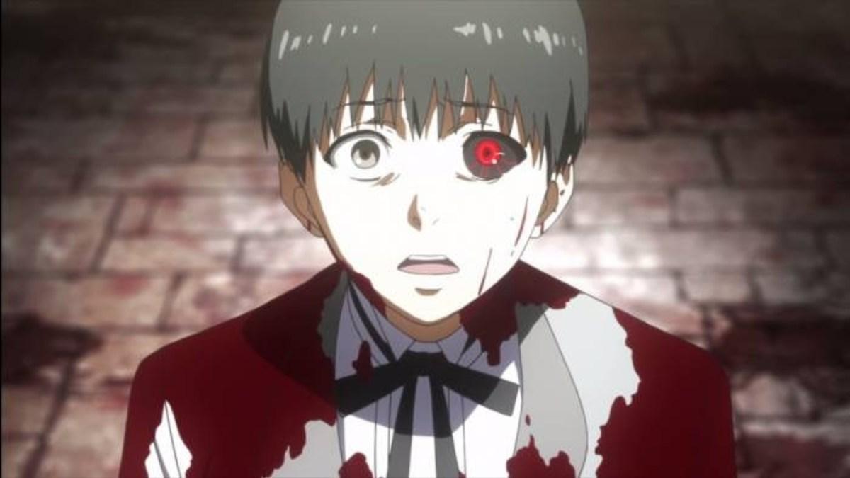 """Kaneki from """"Tokyo Ghoul"""""""