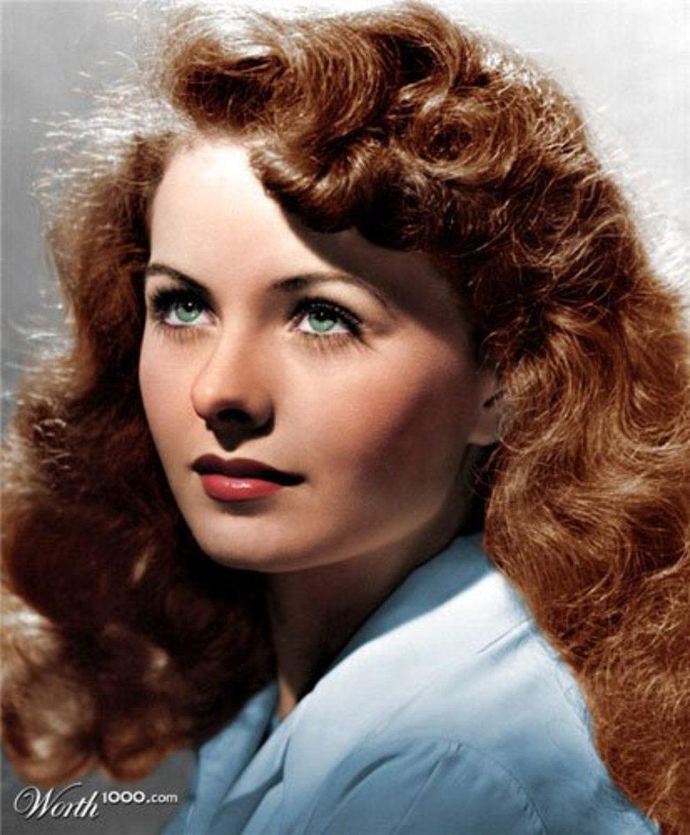 Ten Most Beautiful Redheads From The Golden Era Of Films
