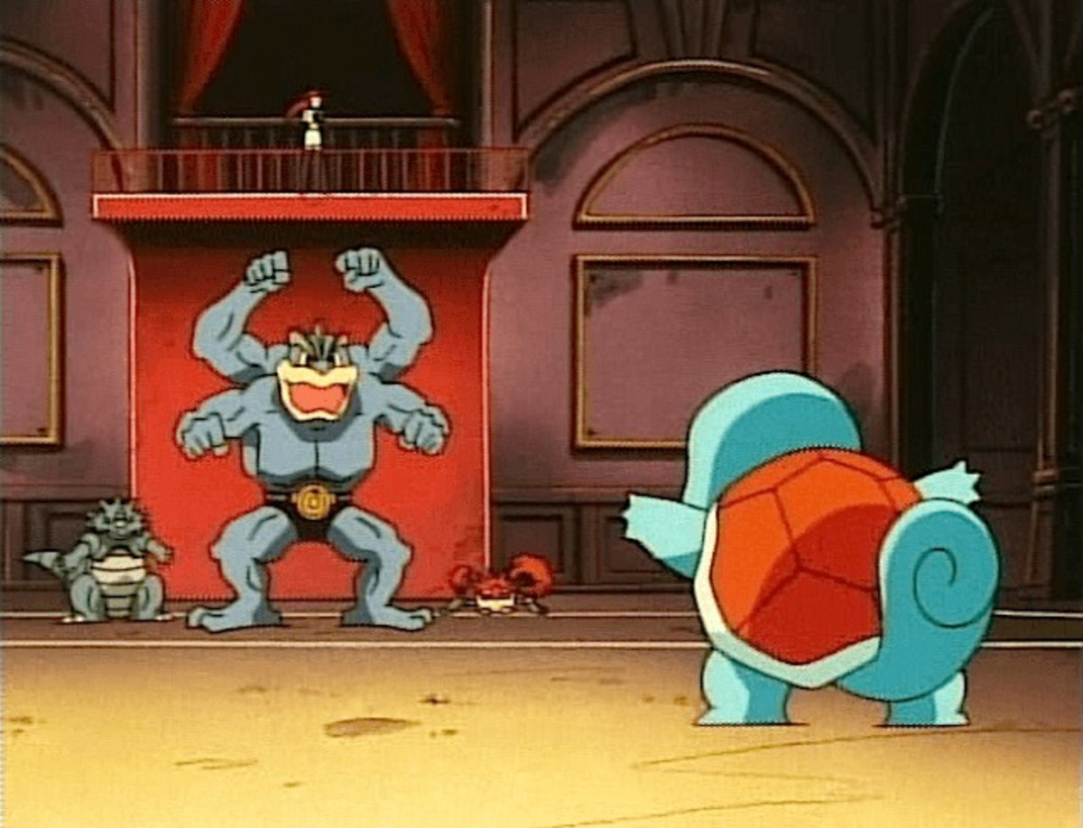 Machamp Vs. Squirtle