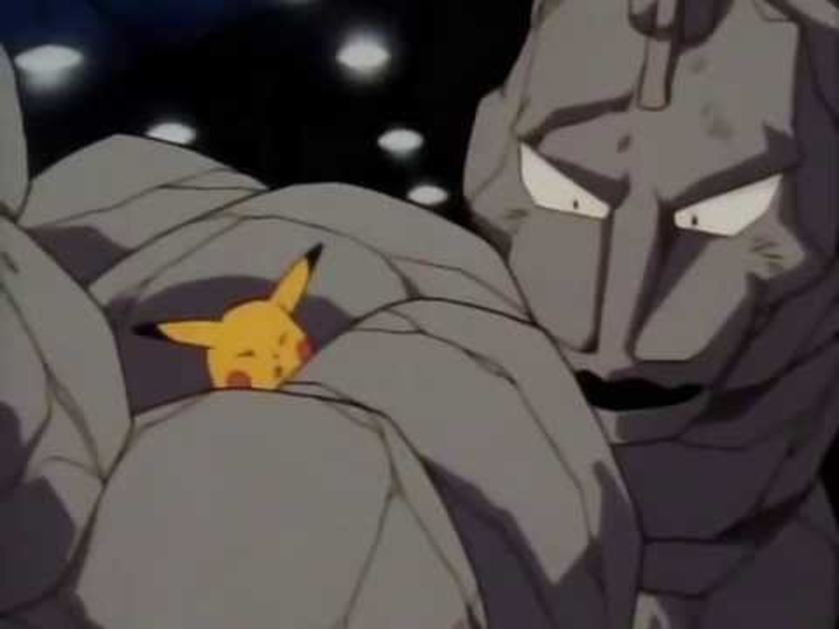 Pikachu Vs. Onix