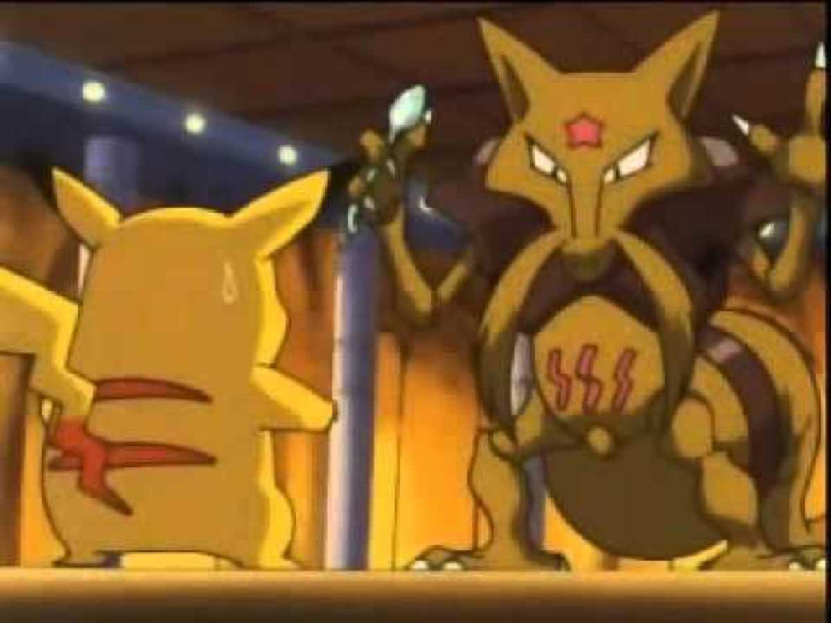 Pikachu Vs. Kadabra