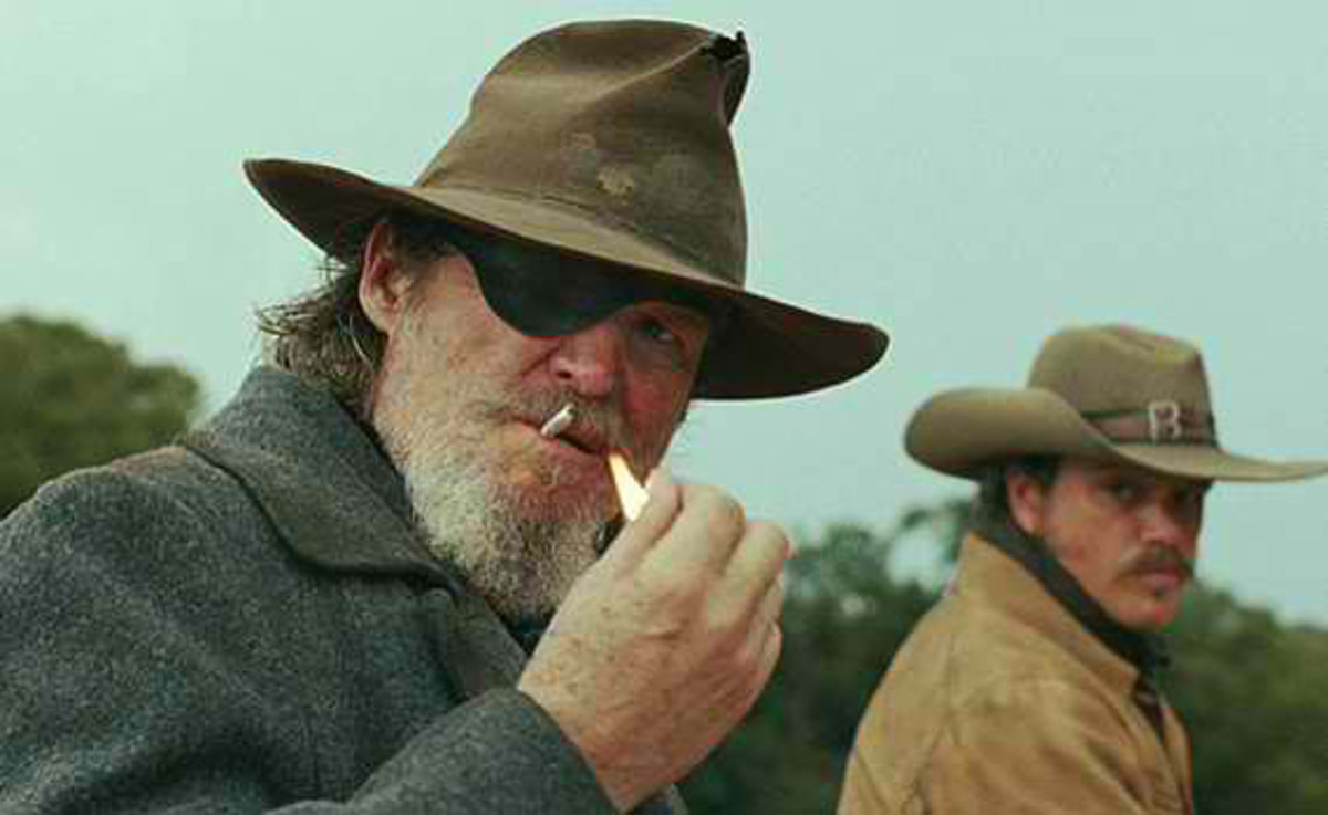 Damon rode with Jeff Bridges in the Coen Brothers' remake of True Grit (2010).