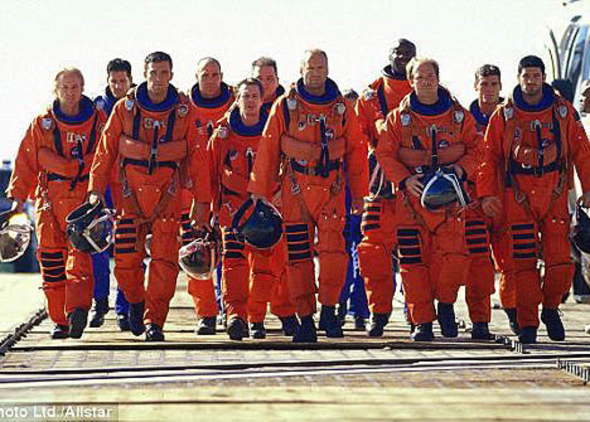 Ocean's 11? It just so happens that the Armageddon space team also has 11 men.