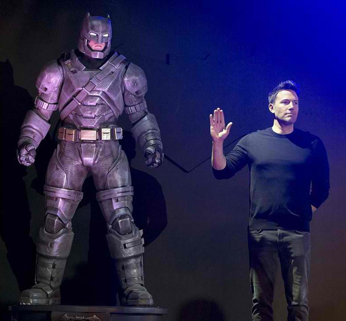 A comic book fan himself, Affleck's turn as the Dark Knight made him more popular than ever.