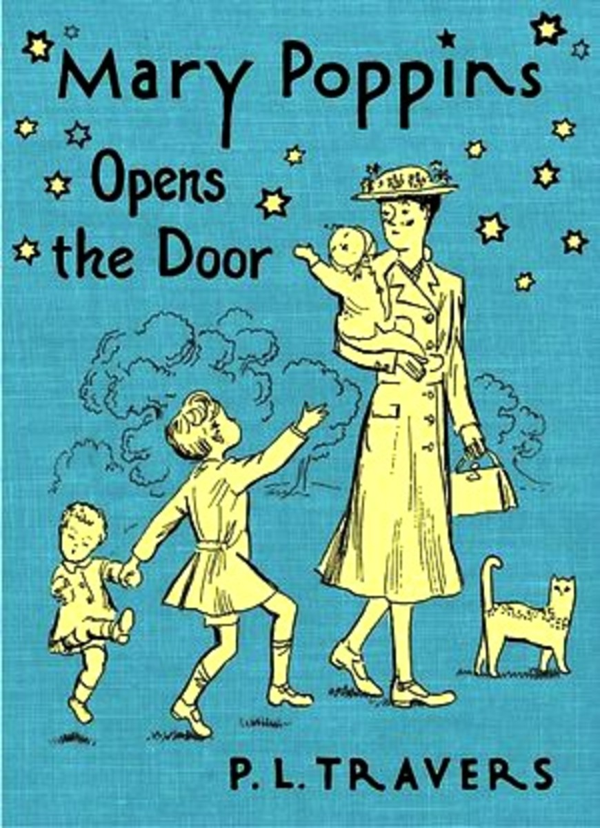 3.Mary Poppins opens the Door