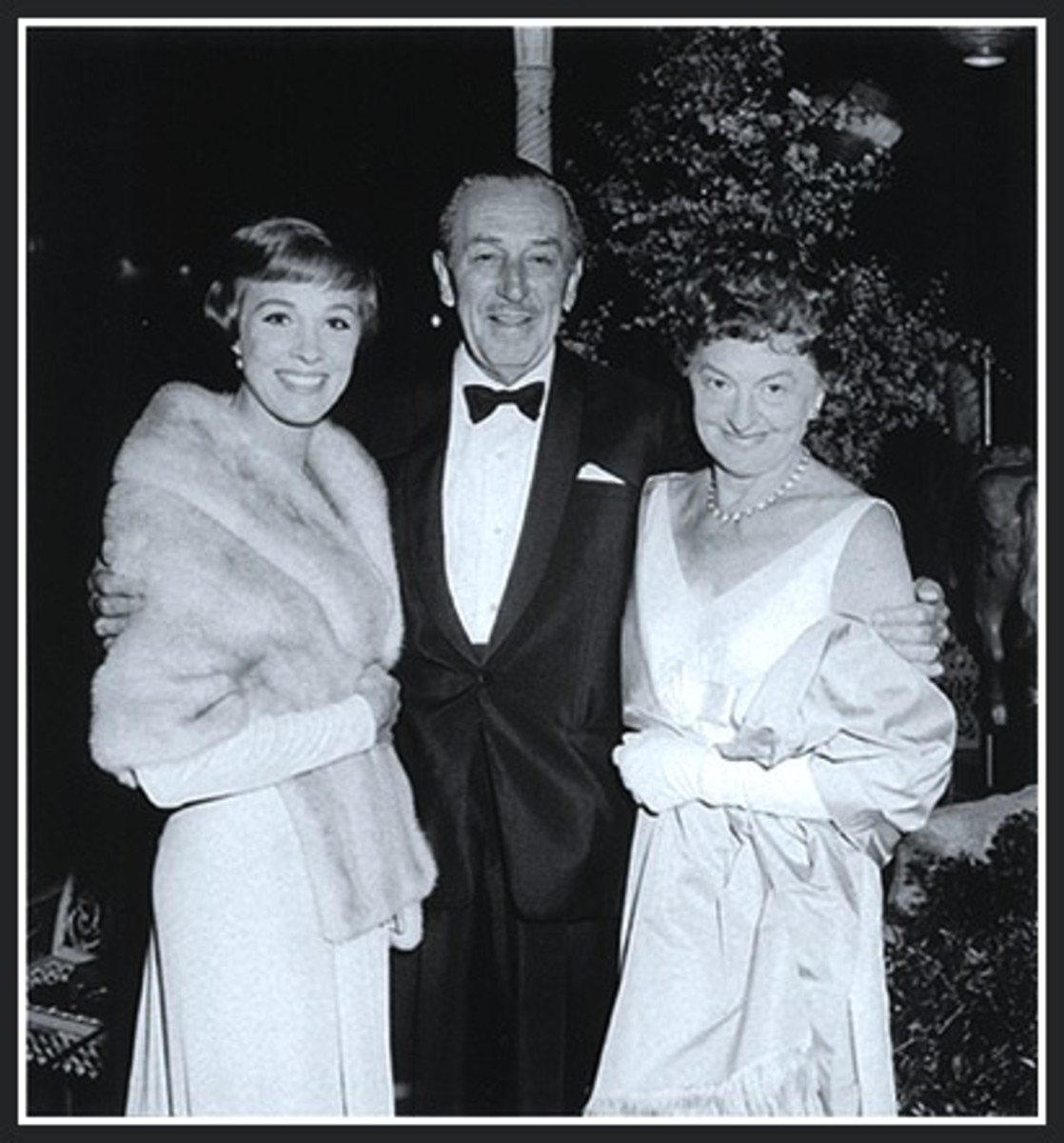 Julie Andrews, Walt Disney and Pamela L Travers