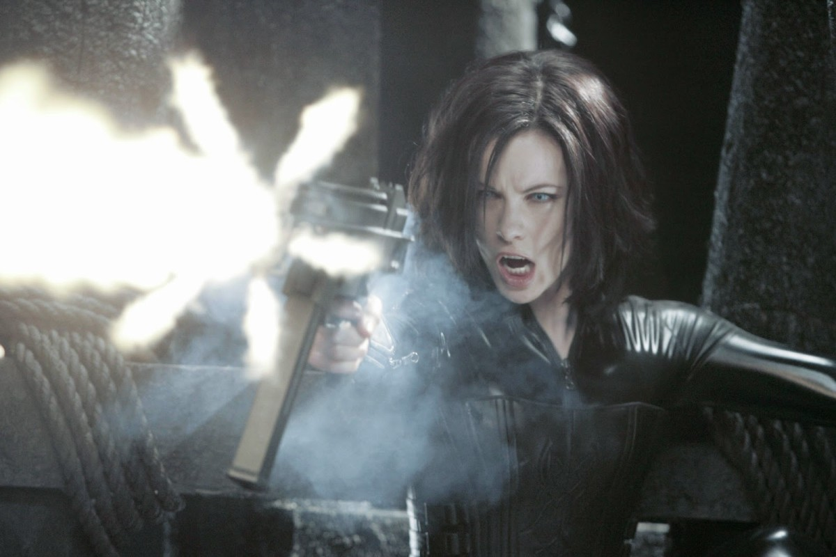 Beckinsale wasn't known for her action roles and doesn't feel quite right somehow
