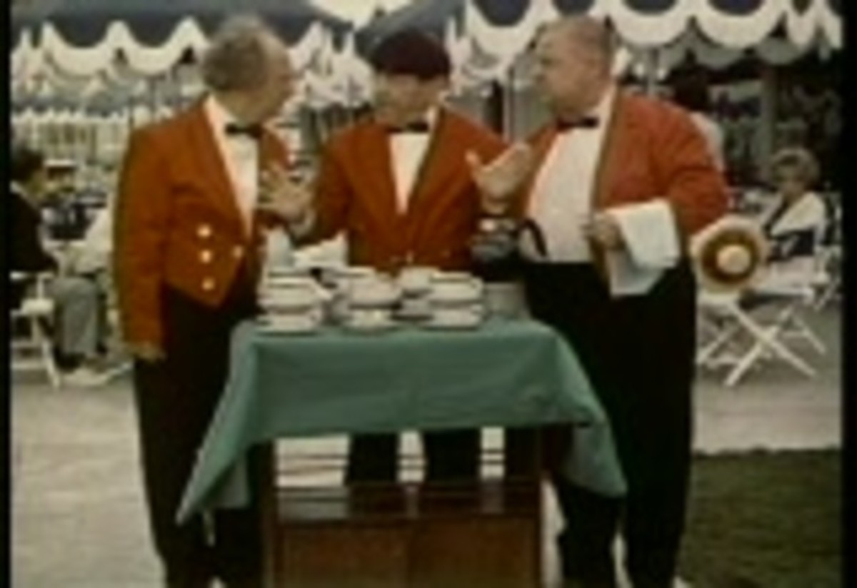 41 new Three Stooges segments were filmed to be included alongside the 130 cartoons. The Stooges were noticeably aged, leading to less slapstick as they could no longer perform most of their iconic routines