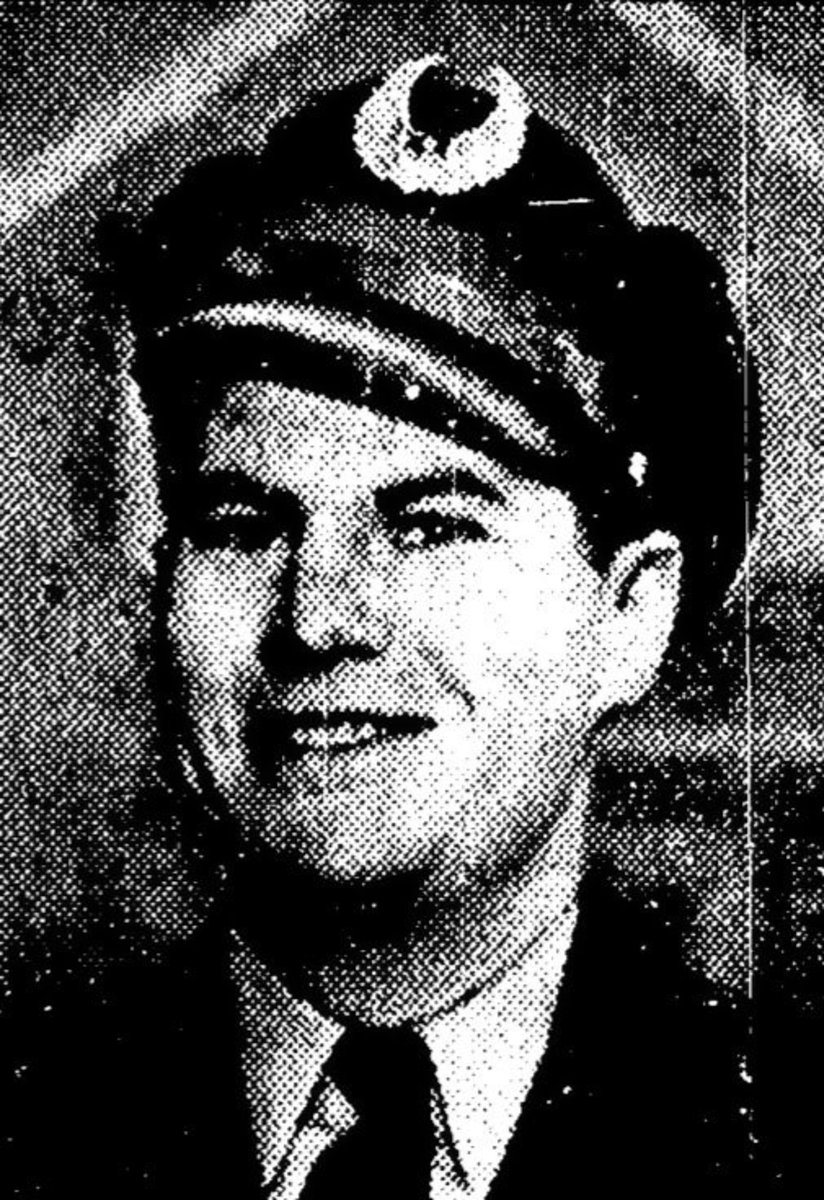 Clark Haas in 1945, around the time he got his first job as a cartoonist