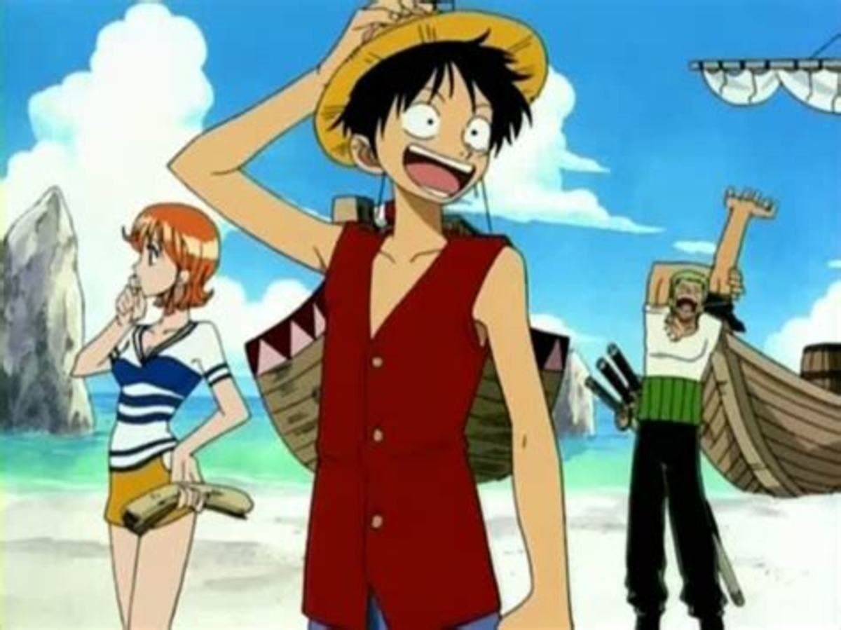 One Piece another popular title streaming on Funimation's website.