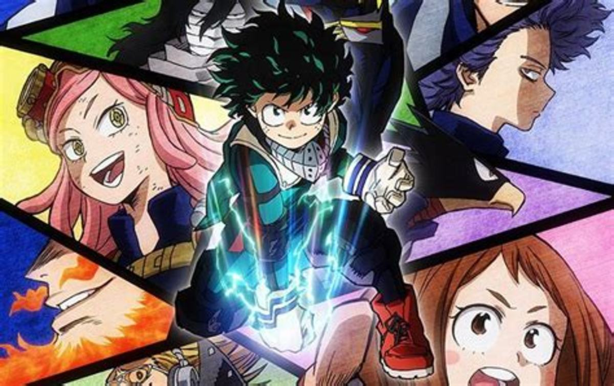 My Hero Academia, one of Funimation's popular titles.