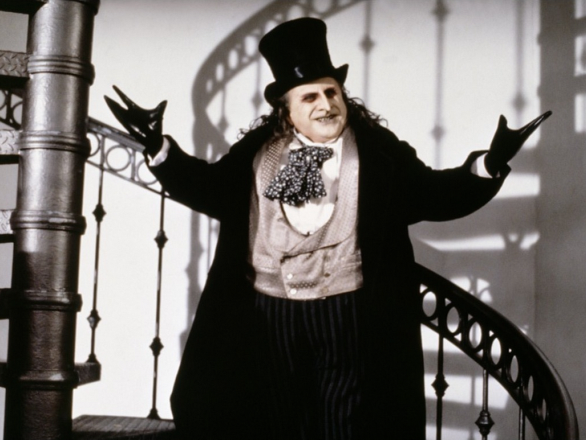 DeVito's Penguin, on the other hand, continues to divide fans but is a bit too dark for this viewer's tastes and simply isn't intimidating enough.