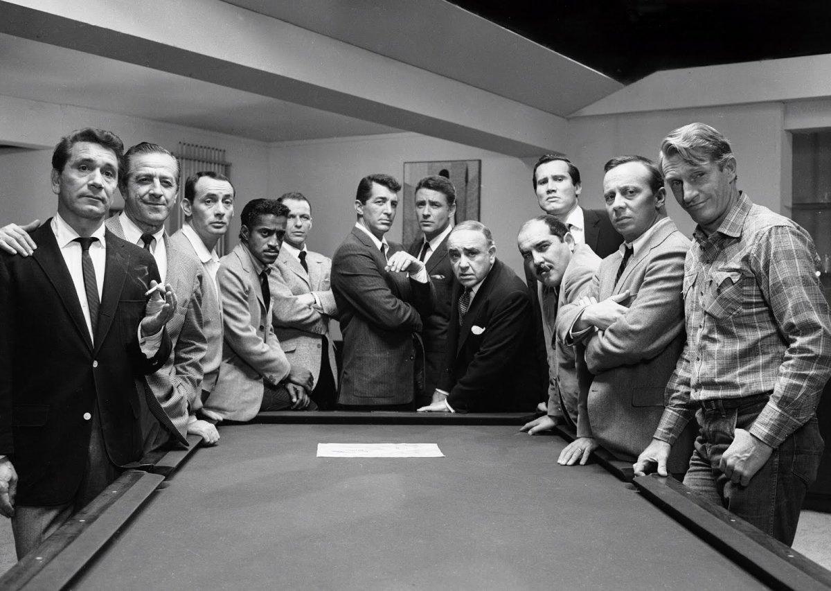 Never before had so many of the Rat Pack featured in a single movie - even they do resort to every heist film cliché imaginable.