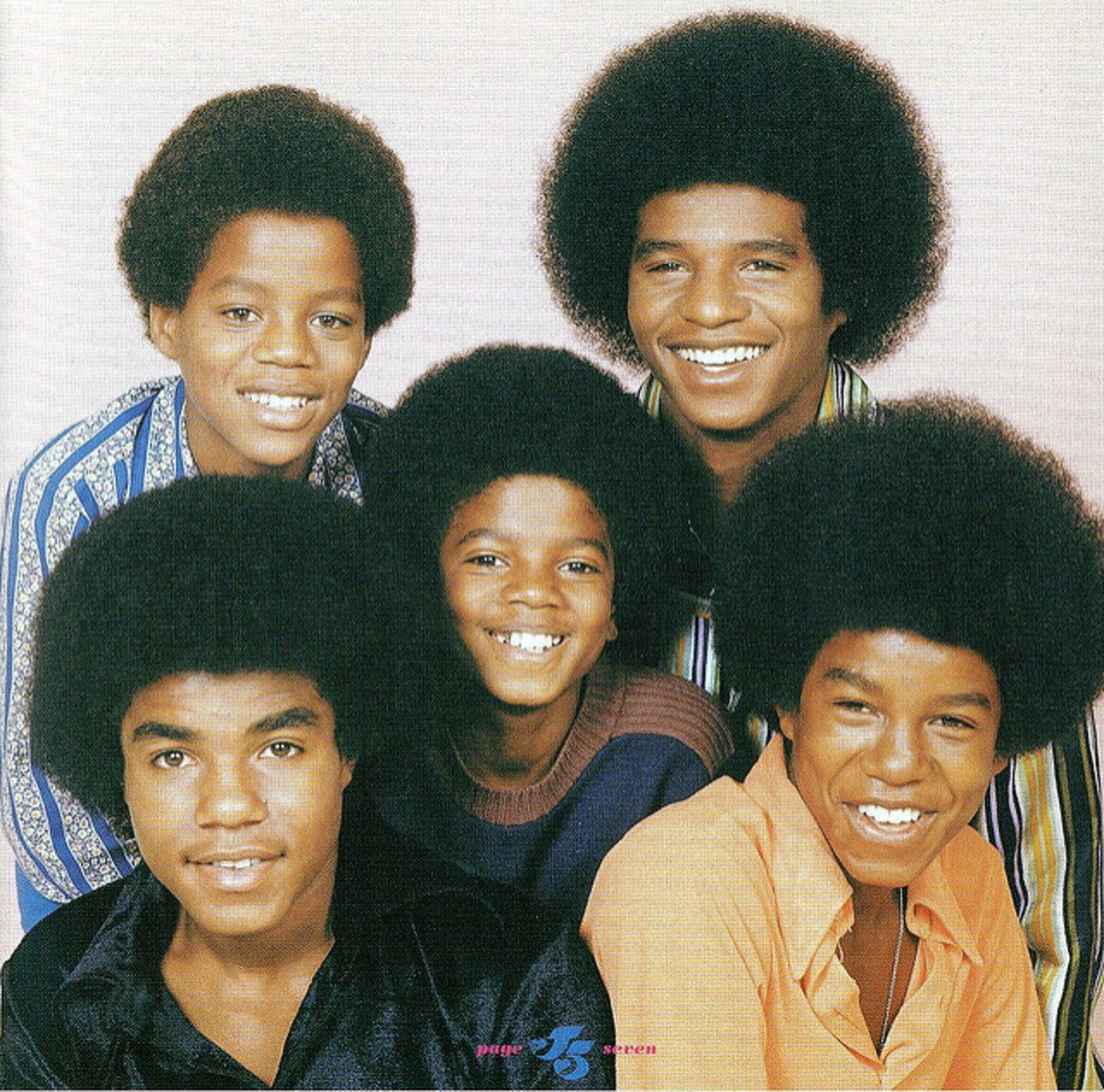 Young Michael Jackson  (in the center)