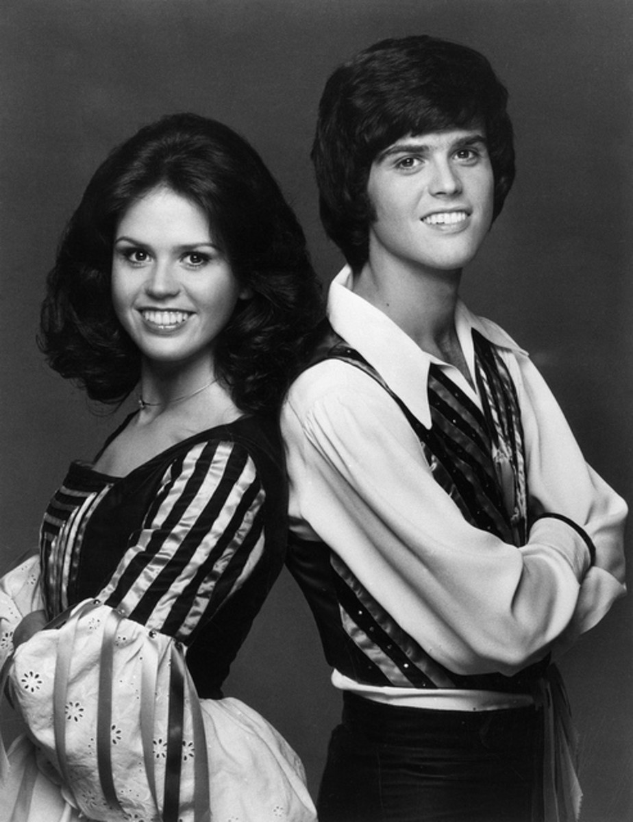 Donny Osmond (with sister Marie)