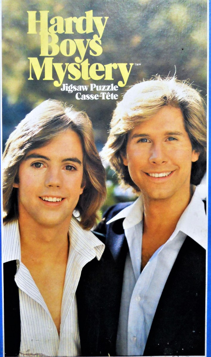 The Hardy Boys: Shaun Cassidy and Parker Stevenson  (from a puzzle)