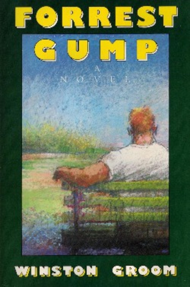 Conceived by Groom as six foot six, 242 pounds, for some reason Gump had to go on a diet to get from a little book onto the big screen.