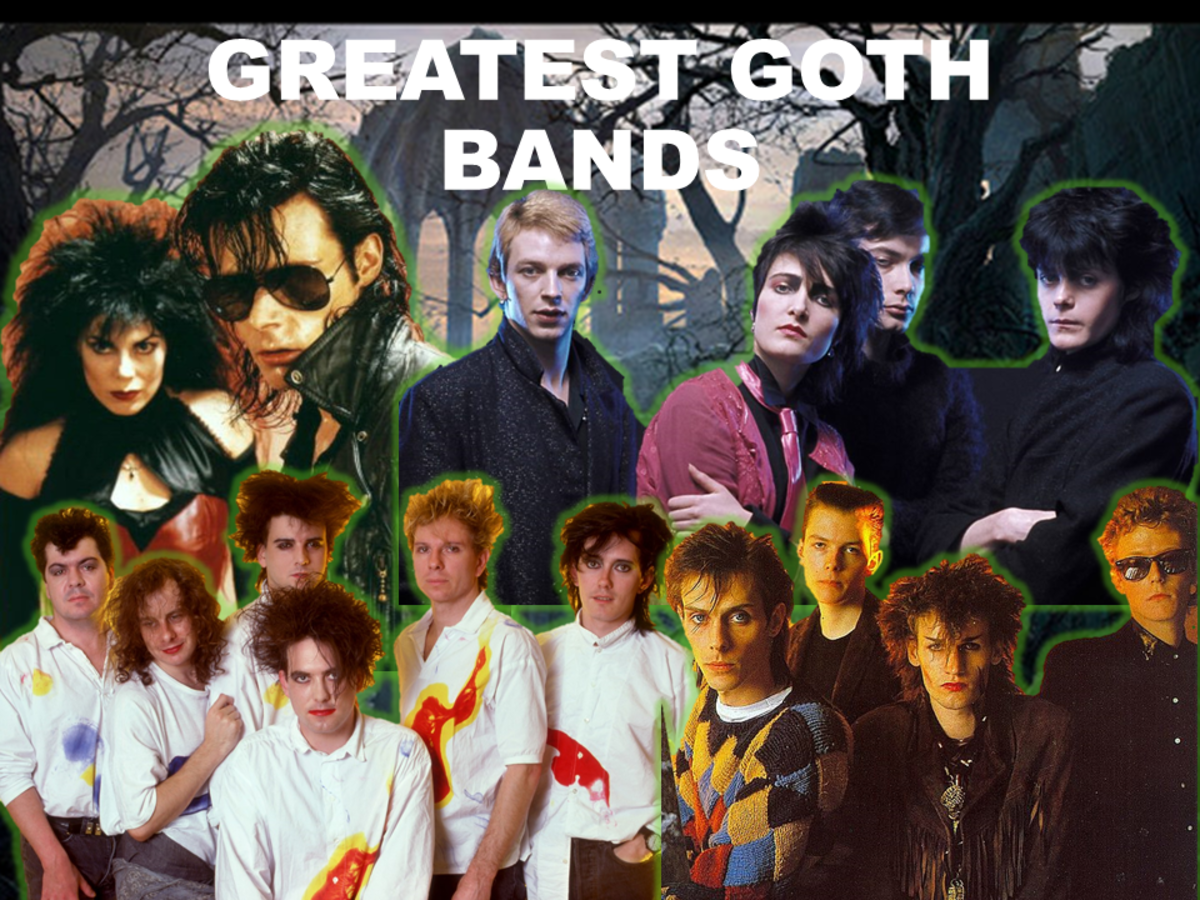 Greatest Goth Bands of All Time