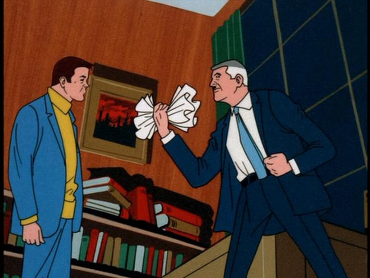 The Daily Bugle and its editor in chief, J. Jonah Jameson, made frequent appearances.