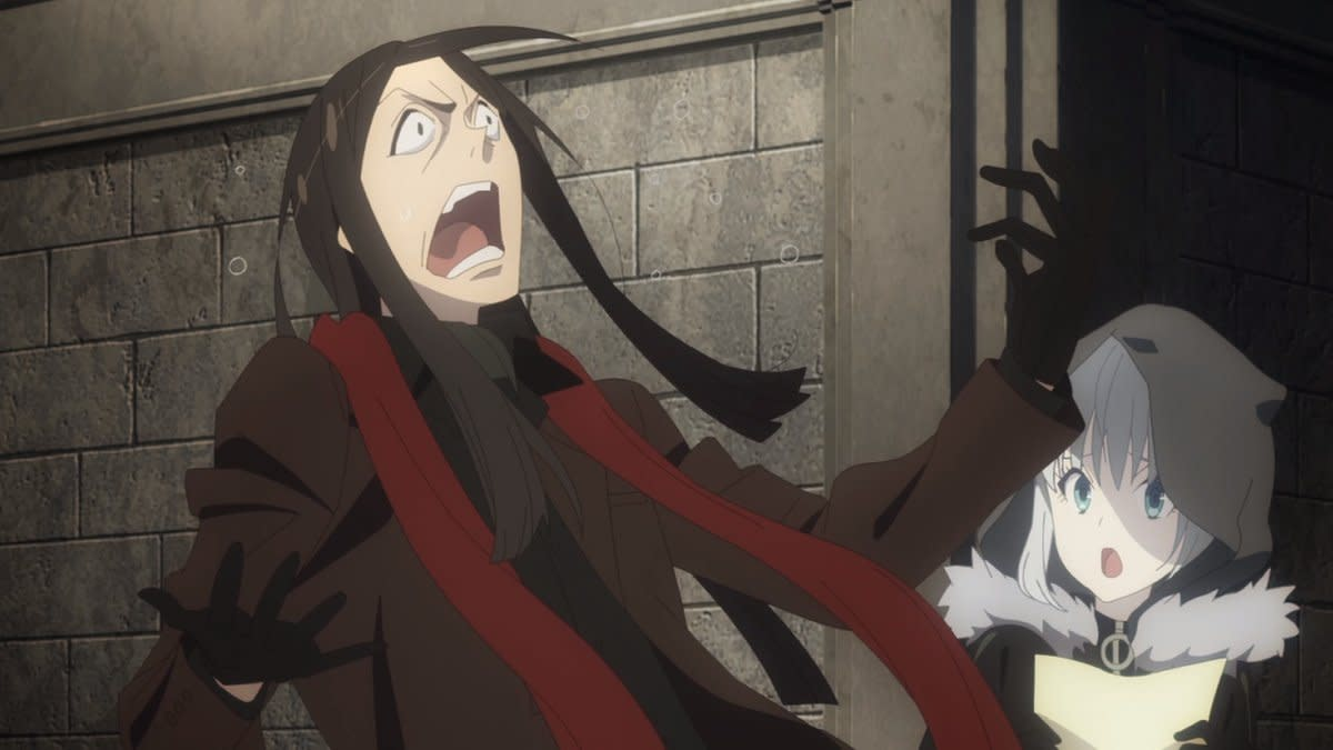 Waver freaking out like in the old days.