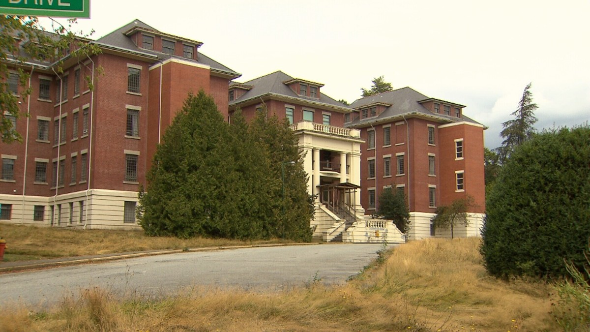 Riverview Mental Hospital in Coquitlam, British Columbia.