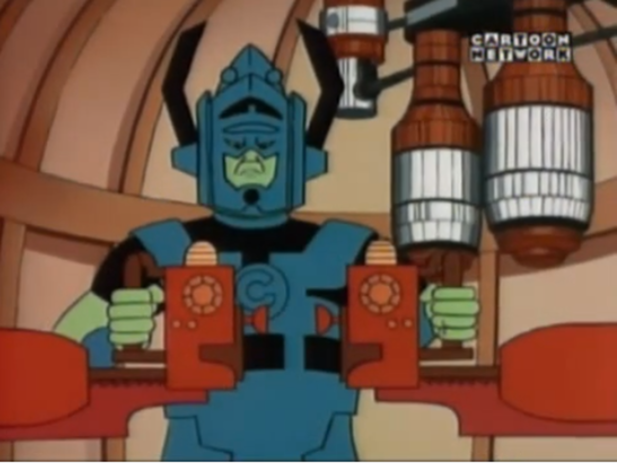 """One of the most iconic Fantastic Four storylines, """"The Galactus Trilogy"""", was adapted into an episode."""