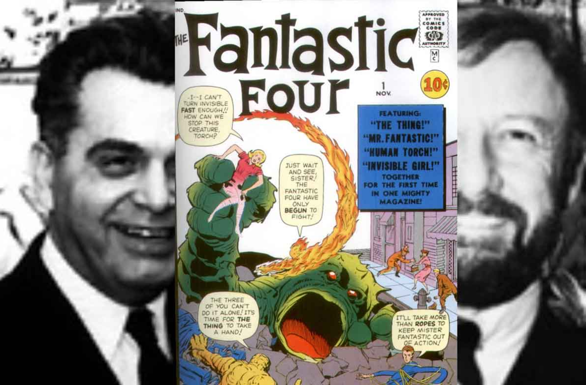 The Fantastic Four were developed by Jack Kirby and Stan Lee, the first of many superheroes they would create together.