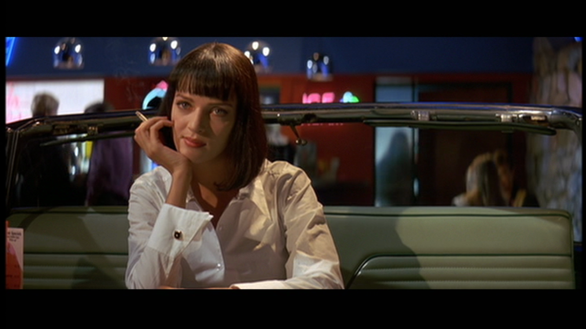 Thurman's performance as vampish Mia Wallace is to die for - sexy, sultry and dangerously alluring.