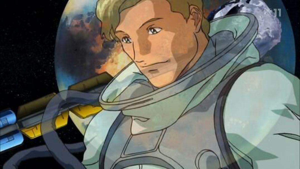 George Glenn, the first ever Coordinator in the world of Gundam SEED / SEED Destiny