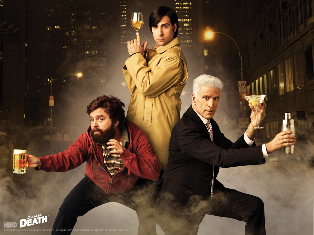 Underemployed writer Jonathan Ames (Jason Schwartzman) is inspired by a Raymond Chandler novel to advertise his services as a private detective.