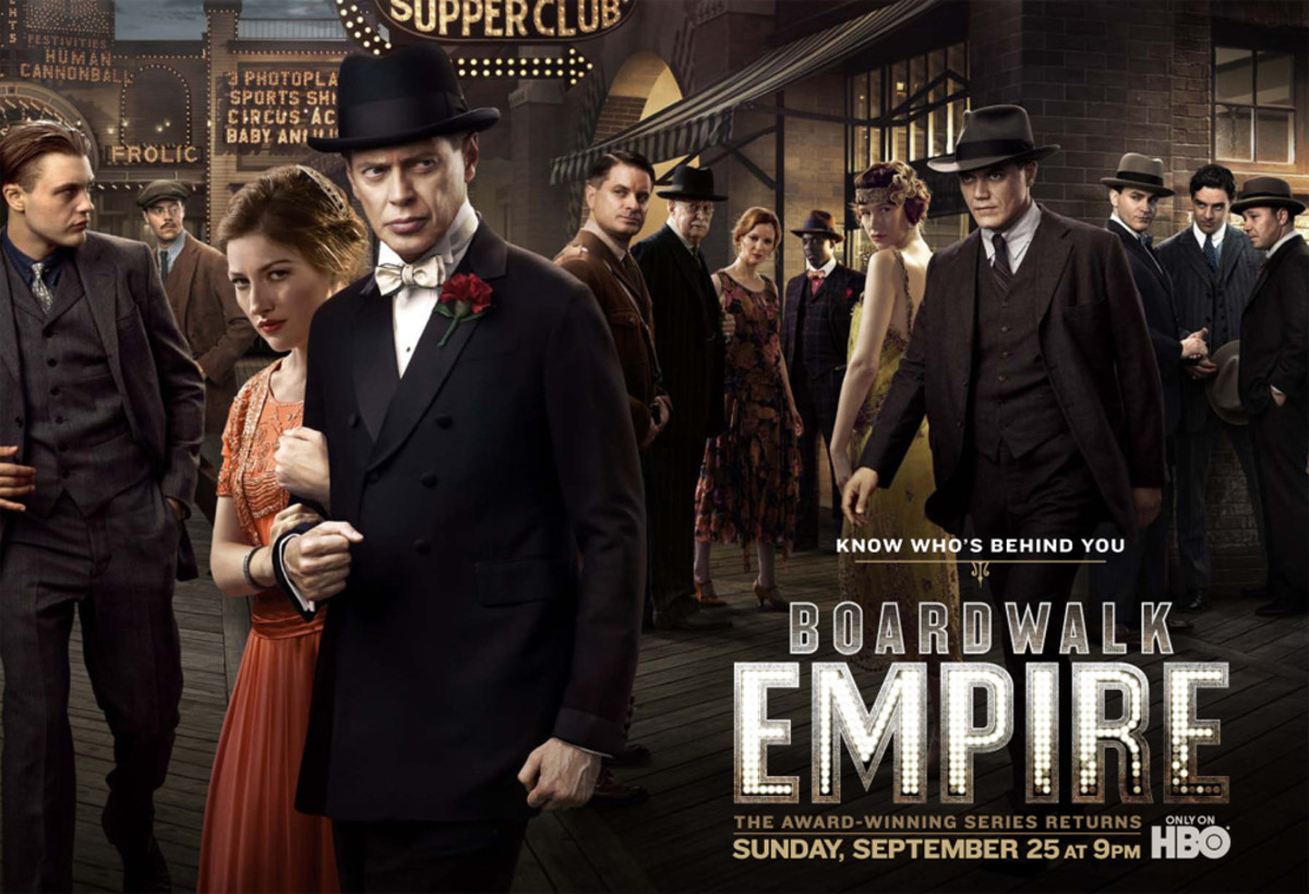 """Creator Terence Winter was inspired by the book """"Boardwalk Empire: The Birth, High Times, and Corruption of Atlantic City"""" by Nelson Johnson."""