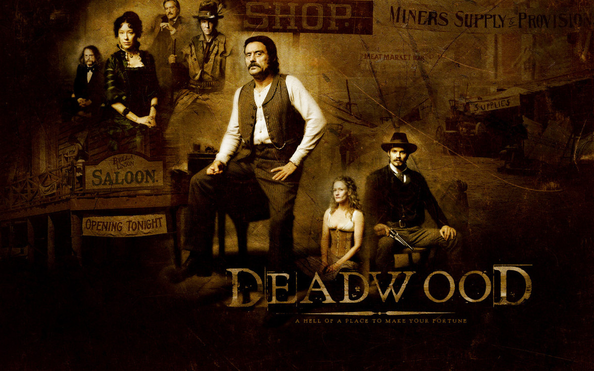 Deadwood won eight Emmy Awards as well as a Golden Globe Award.