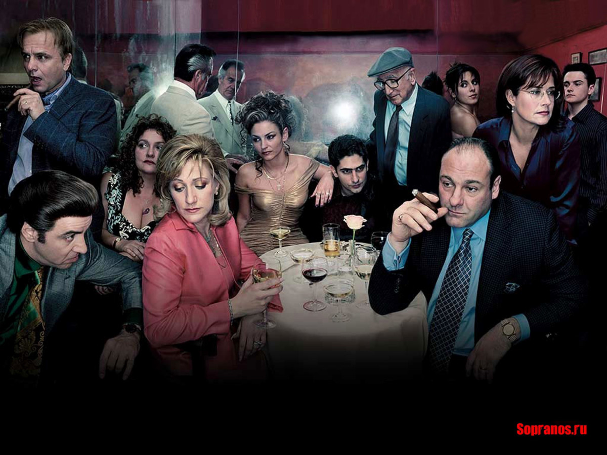 The Sopranos is regarded by many as the greatest TV series of all time.
