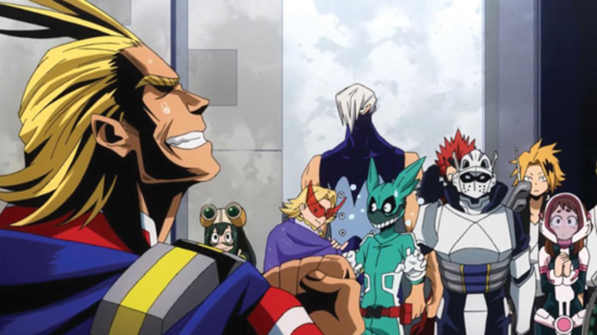 anime-review-my-hero-academia-season-one