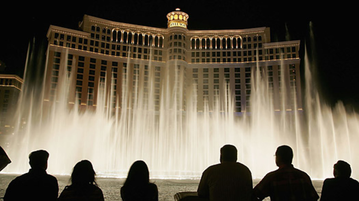 The Bellagio is one of three separate casinos the gang plan to rob...