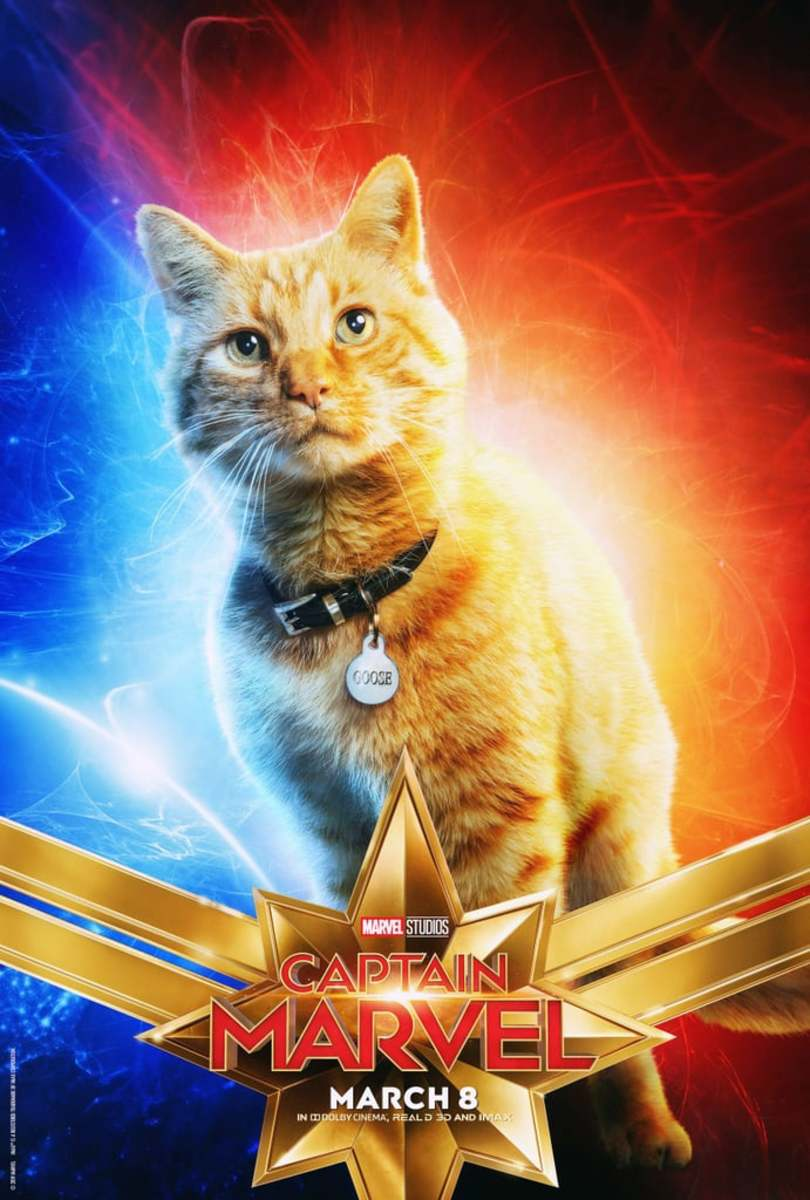 Ms. Sarah did at least seem to like Goose the Cat... That's all the positivity she had for the movie though.