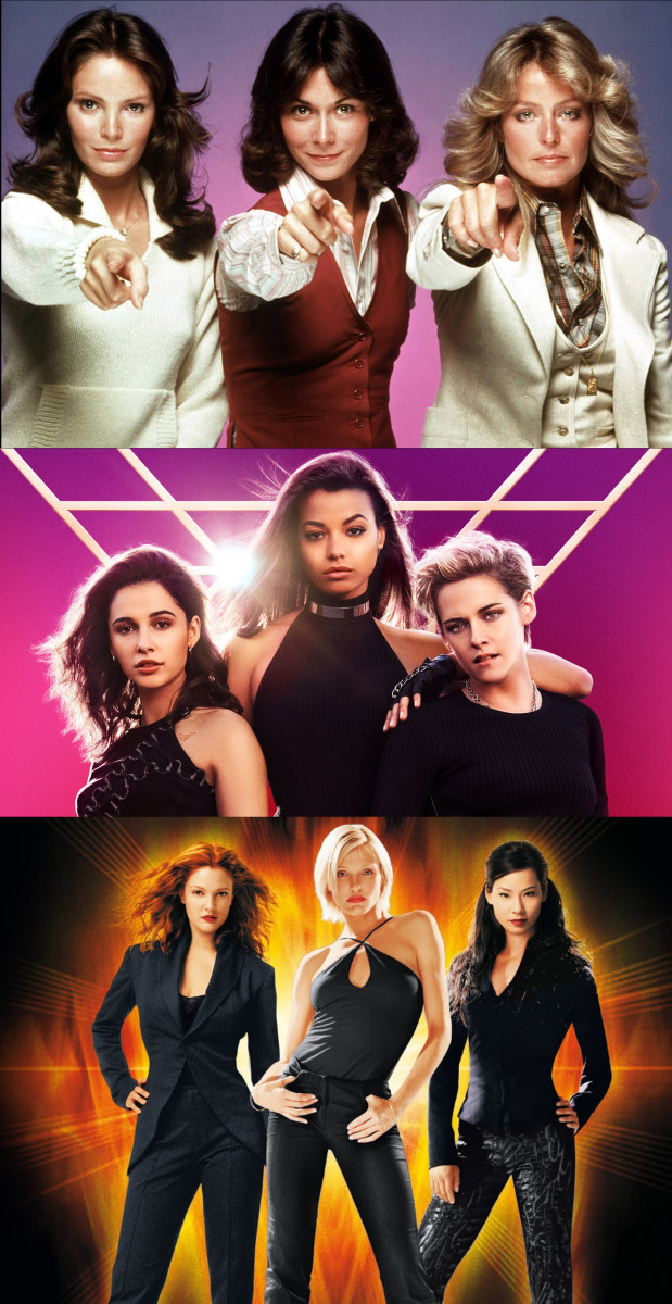 The Angels over the years.