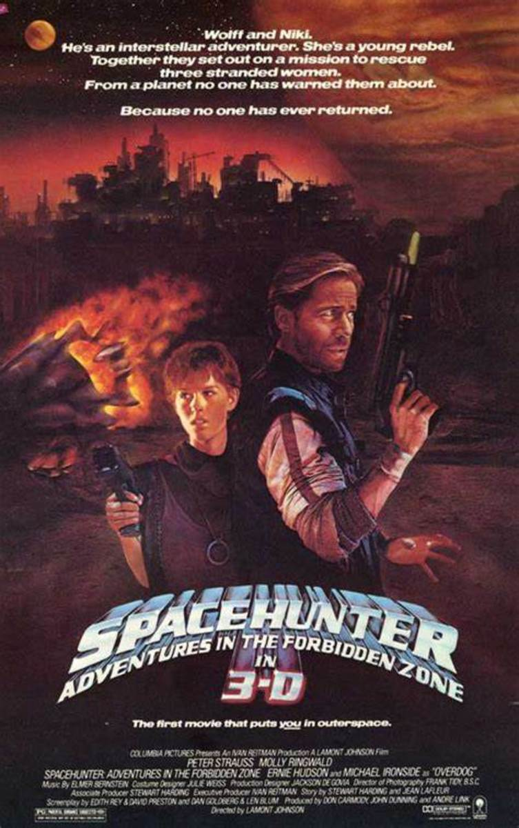 Can't forget Spacehunter!